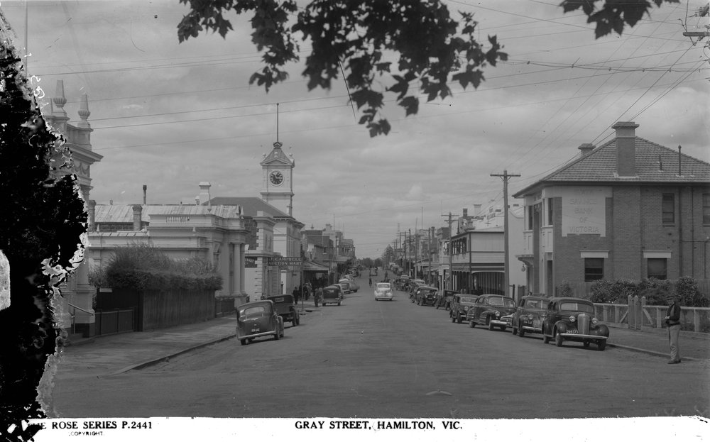 Gray Street Hamilton (SSB is the first building on the right)