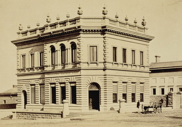 Melbourne Savings Bank 1832-1878