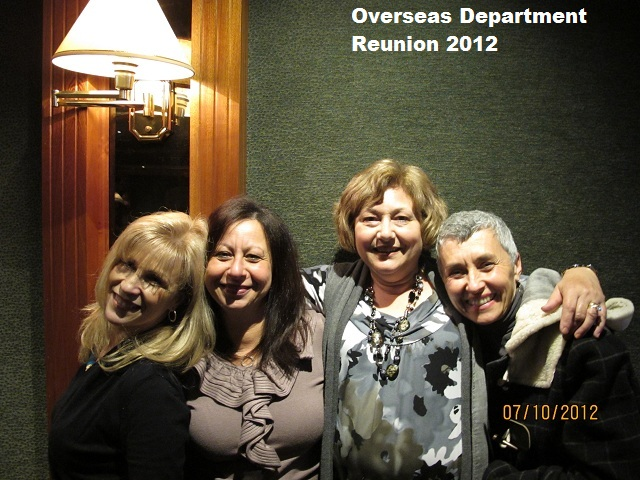 Overseas Dept 2012 Reunion