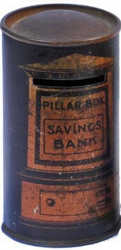Pillar money box