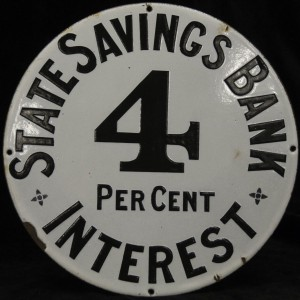 Signs-interest rate