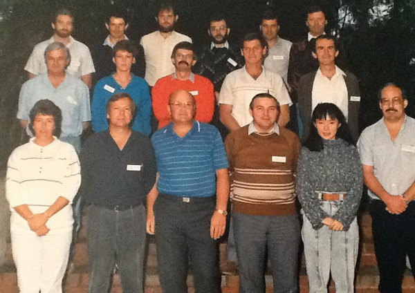 Lending 2 Course 1989 Front Row - Jill Henderson, Robert Staggard, Ross Hughes, Robert Long, Fiona Chong, Warren Everitt Middle Row - Phil Smith, Cheryl Curtis, Alan Confoy, Brian Leirsch, Eric Bolitho Back Row - Peter Barber, Terry Lambden, Alan Murrell, Derek Lowe, Collin Wilson